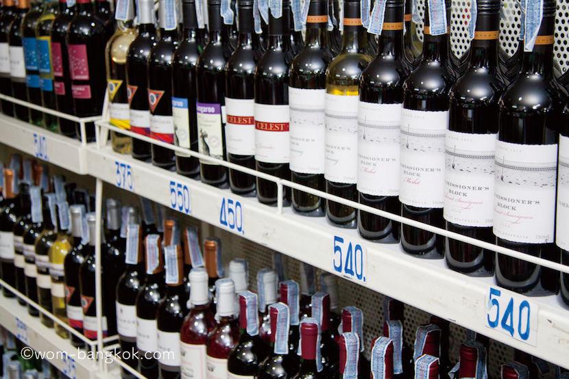 アルコール売り場