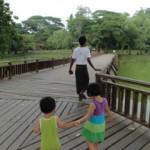 タイの隣国ミャンマーの暮らし