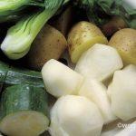ヘルシ~☆蒸し野菜