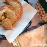 パリパリサクサク☆お豆のひとくちサモサ