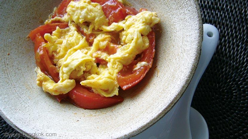 トマト炒め