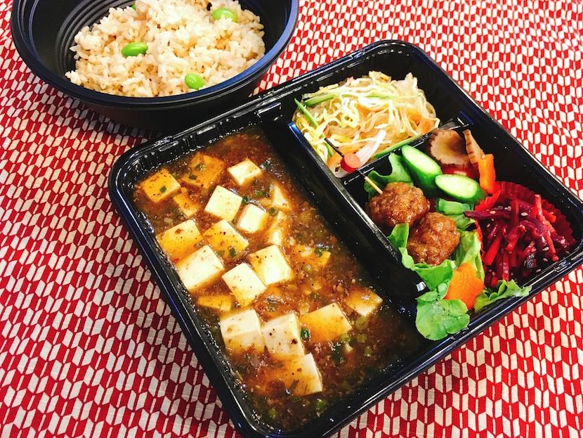 麻婆豆腐弁当 250バーツ