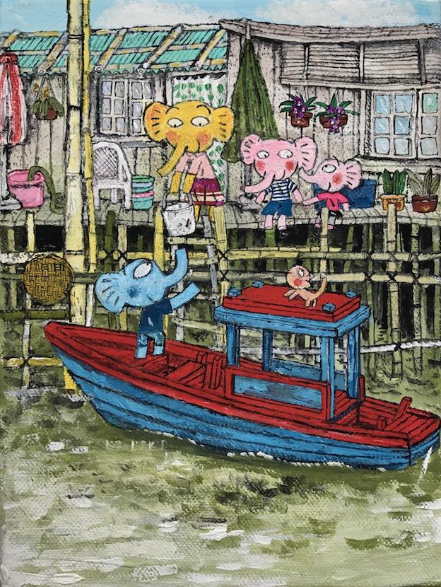 あべきょうこの楽しいバンコク生活「海辺のお家」