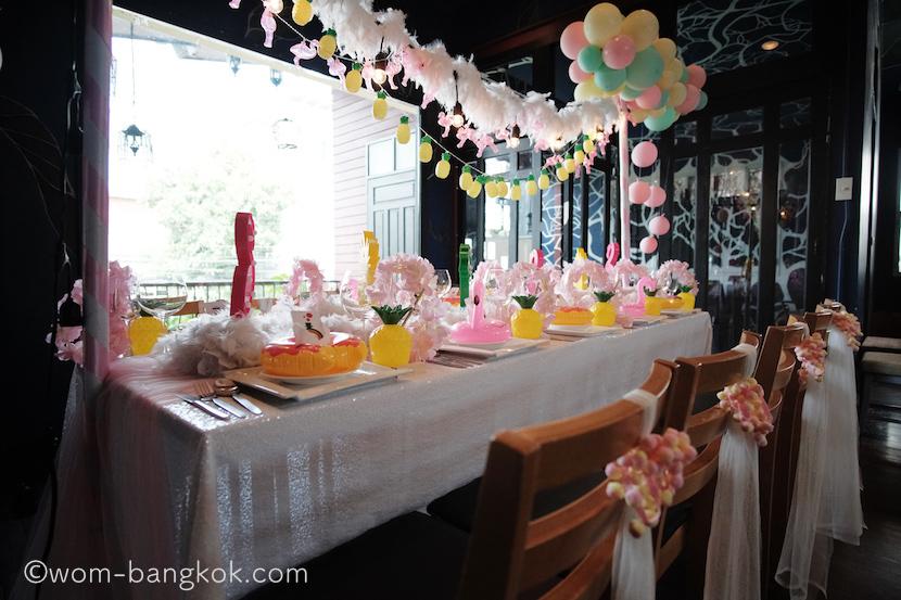 8.プライベートパーティのイメージ。子供の誕生日会にもピッタリ
