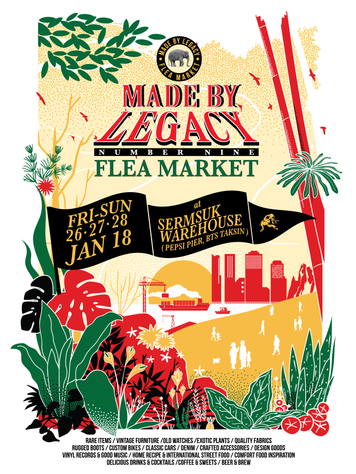 MADE BY LEGACY FLEA MARKET