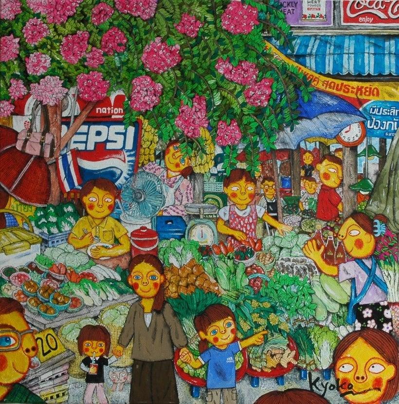 あべきょうこの楽しいバンコク生活「タイの屋台」