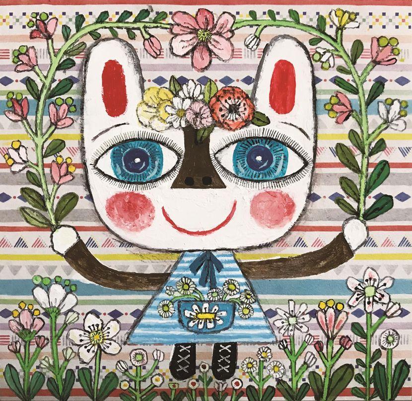 あべきょうこの楽しいバンコク生活「毎日ウサギ」