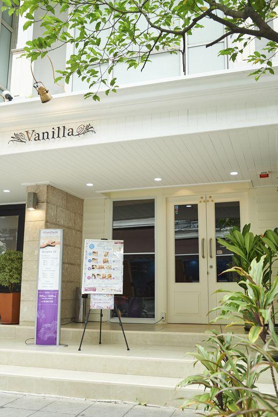 人気スパのおすすめボディートリートメント Vanilla Spa