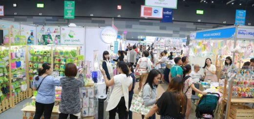 タイ最大 お母さんとお子さん向けのイベント「第15回AMARINBaby&Kids Fair2019」開催中!