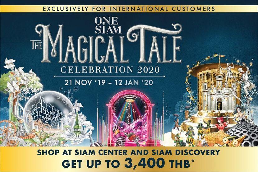 タイ在住外国人限定プロモーション! 「ONESIAM THE MAGICAL TALE CELEBRATION2020」ONESIAMでお得にショッピング