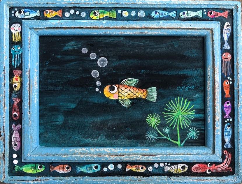 あべきょうこの楽しいバンコク生活「毎日お絵描き」
