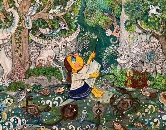 あべきょうこの楽しいバンコク生活「創造の森」