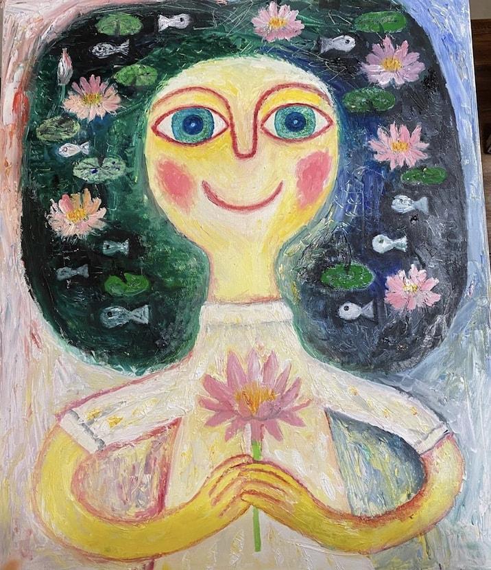 阿部恭子さん個展「My Little Garden わたしの小さな庭」