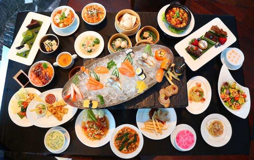 Novotel Bangkok Suvarnabhumi Airport Hotel The Square Restaurant
