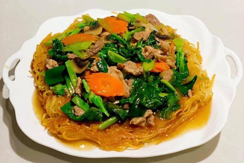 タイ野菜でかんたんランチ