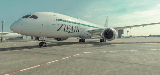 ZIPAIR バンコク→東京 毎日運航中